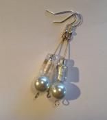 Snowy earrings (2)