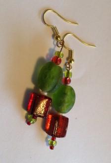 Xmas earrings (1)