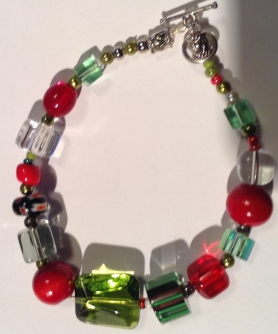 Strawberry Circle bracelet
