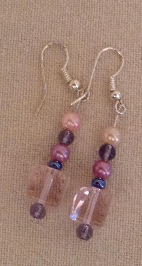 Prettiest Pink earrings