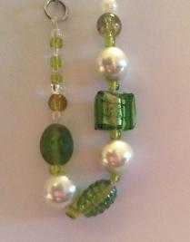 Snowy Green bracelet