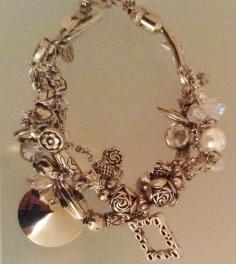 Silver Strands bracelet
