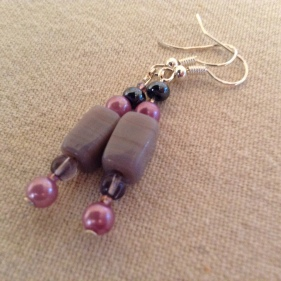 MauveMellow earrings