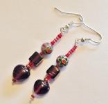 Mulberry Jam earrings