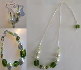Snowy Green set