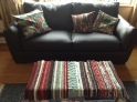 Rug with paeony cushions NFS