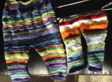 Rainbow sleepy overalls NFS