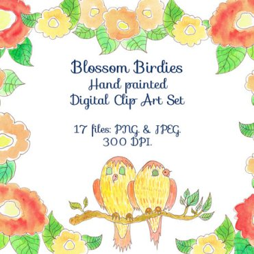 Blossom Birdies © 2014 azolloza