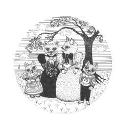 Cat marriage - Lauren White