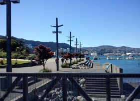 Wellington waterfront 3