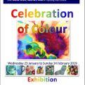 2019-01-23 KA&CS poster Celebration of Colour