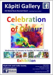 2019-01-23 KA&CS poster Celebration of Colour