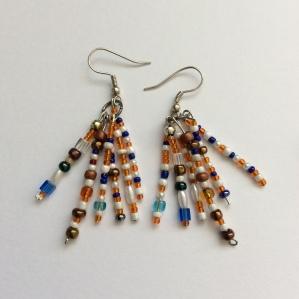 Boho summer earrings