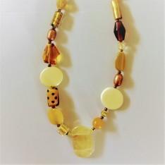 listing #363134 necklace - oranges and lemons (2)