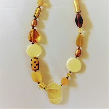 listing #363134 necklace - oranges and lemons (2)