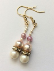 listing #363719 earrings - pearly princess pink (7)