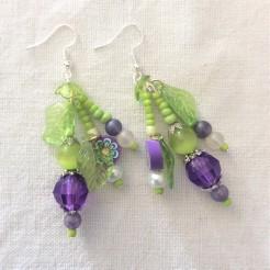 Earrings - Sweet Violet (6)